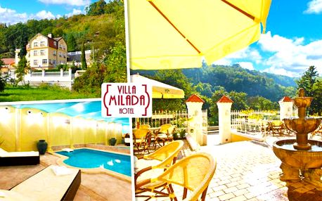 Romantika v Praze v Hotelu Villa Milada!