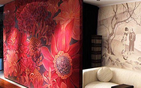 Ruční nástěnné malby od designérky Natalie Geyets - Originální a zcela unikátní výzdoba interiéru