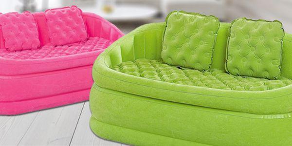 Nafukovací pohovka: perfektní do bytu i na zahradu! 2 barvy.