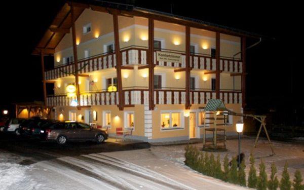 Rakousko, oblast Korutany, snídaně, ubytování v 3* hotelu na 8 dní