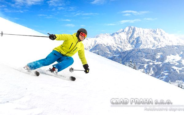 Jednodenní lyžování v Rakousku o pololetních prázdninách