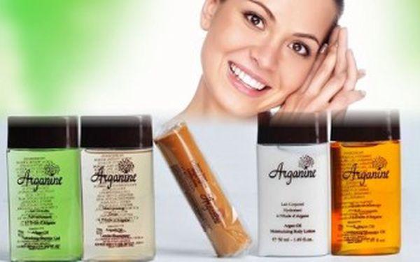 """5 LUXUSNÍCH kosmetických produktů s ARGANOVÝM OLEJEM - """"tekutým zlatem""""! DOPRAVA v ceně."""
