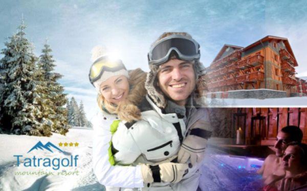 Pobyt v TATRÁCH pro 2 až 4 os. v luxusních apartmánech Tatragolf Mountain Resort ****!