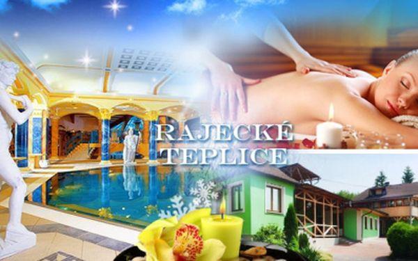 3 až 7denní relax v Rajeckých Teplicích pro 2 os.! Pobyt s POLOPENZÍ, MASÁŽÍ a SAUNOU! Tip pro jarní prázdniny!