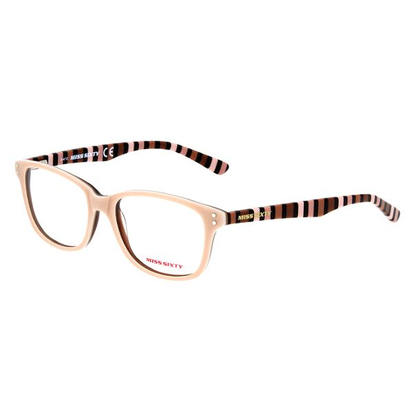 Dámské pastelové brýle s pruhovanými stranicemi Miss Sixty