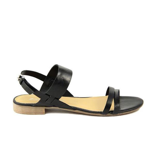 Dámské černé páskové sandály Giorgio Picino
