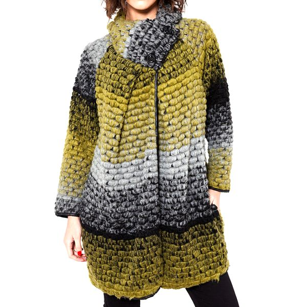 Dámský barevný kabátek Mademoiselle Agathe