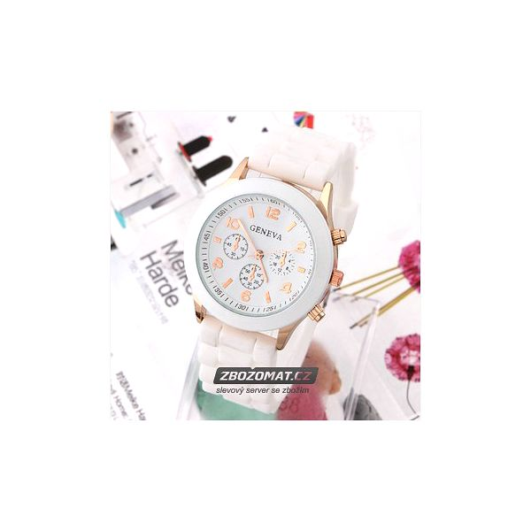 Elegantní náramkové hodinky v mnoha barvách!