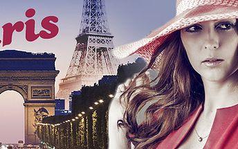 Paříž: nákupy i prohlídka města. 4denní zájezd vč. ubytování!