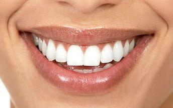 2x 30 minut bělení zubů bez peroxidu!