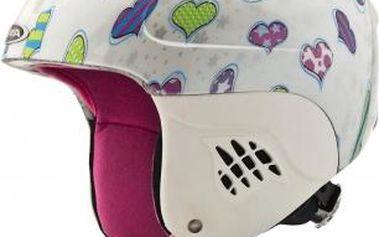 Lehká dětská lyžařská helma Carat