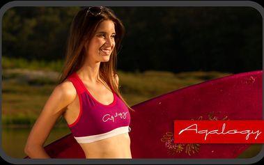 Dámská podprsenka/fitness top Sunset Grape