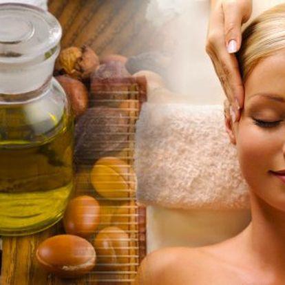 60 min - kosmetické ošetření s arganovým olejem zdarma! Dopřejte si luxusní relaxační kosmetické ošetření ve vyhlášeném Salonu Sen v centru Prahy!