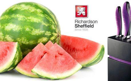 Sada 5 nožů v bloku od Richardson Sheffield