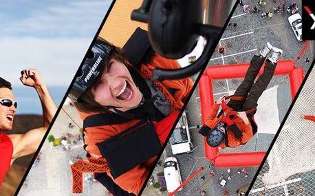 SCAD diving – volný pád z 50 metrů bez lana!
