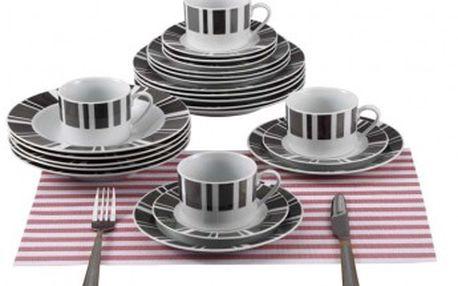 Jídelní sada talířů 30 ks RENBERG