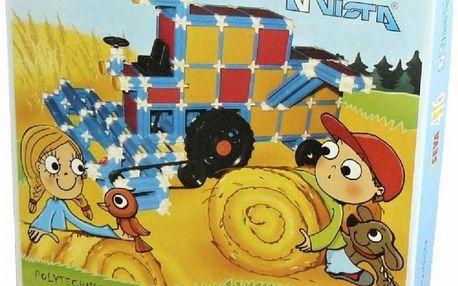 Vista 0301-19 - Stavebnice Seva plast (416 ks)
