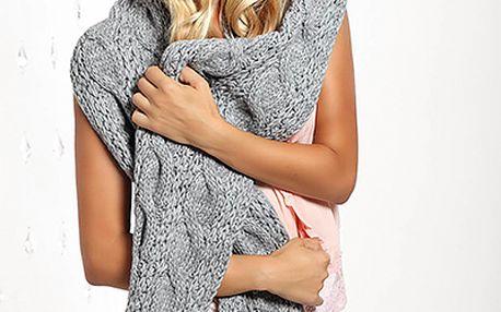 Pletená dámská čepice Etina