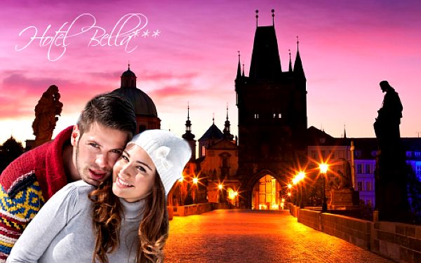 Praha levně pro dva v Hotelu Bella*** se snídaní a vstupenkami do věže Staroměstské radnice