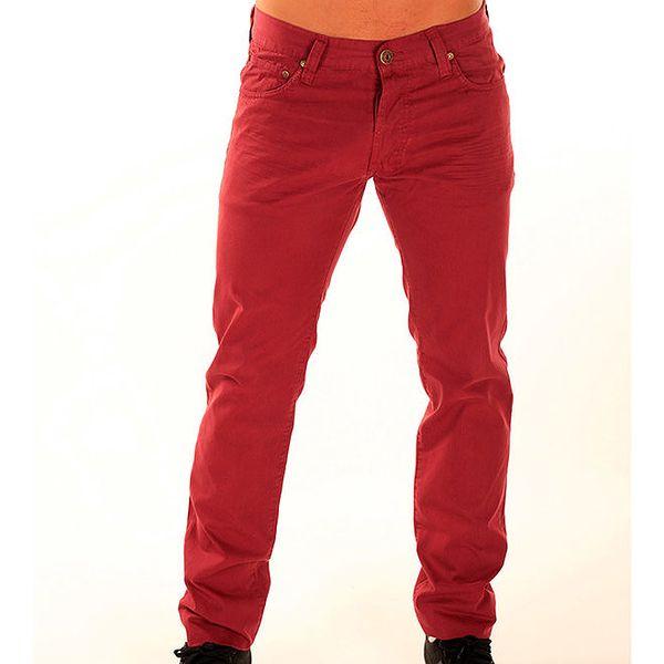 Pánské červené chino kalhoty New Caro