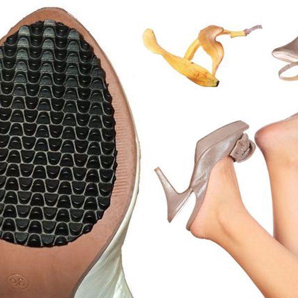 Balení 2 párů protiskluzových podrážek na obuv s poštovným v ceně
