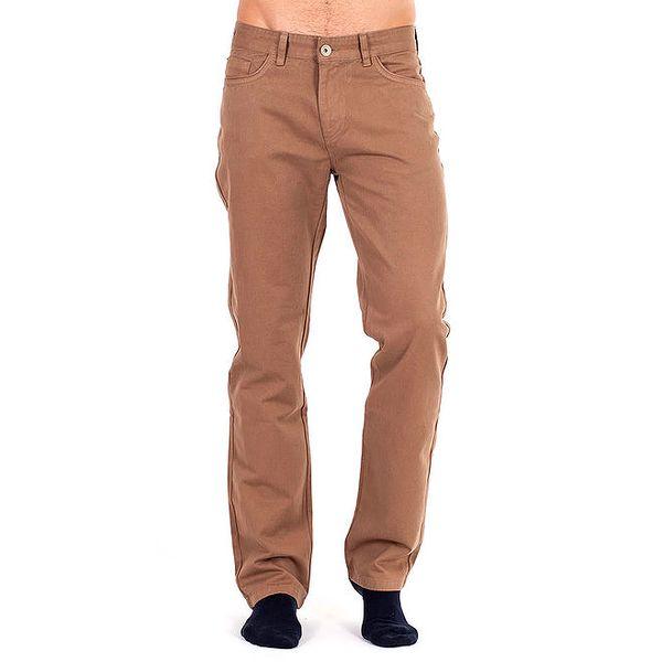 Pánské hnědé kalhoty Galvanni