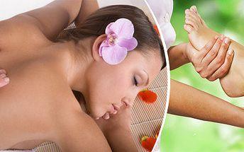 Zdravotně – rehabilitační masáž + jako bonus reflexní masáž chodidel