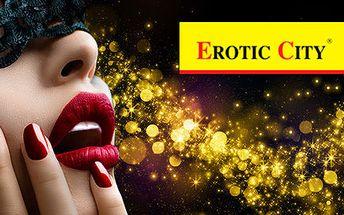 Sleva 40 % na veškerý sortiment v Erotic City