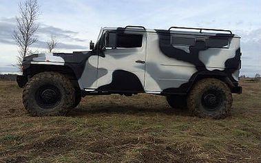 Neuvěřitelná jízda v ruském speciálu GAZ Tir včetně řízení!