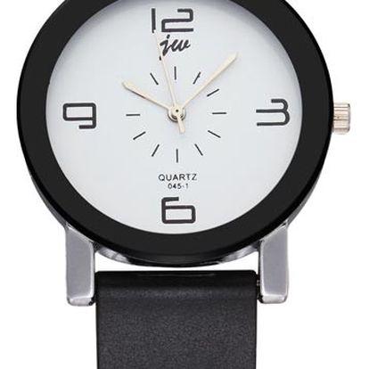 Náramkové hodinky - 2 barvy ciferníku
