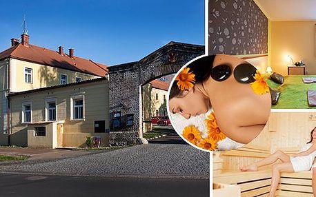 Wellness pobyt pro dámy nebo romantický pobyt!Vychutnejte si3 dny v elegantním hotelu Ve Dvoře přímo u renesančního zámku!! Užijte si wellness nebo návštěvu muzea J.W. Neprakty. Vydejte se na toulky do Brd, poznejte okolí pěšky nebo na kolech!!