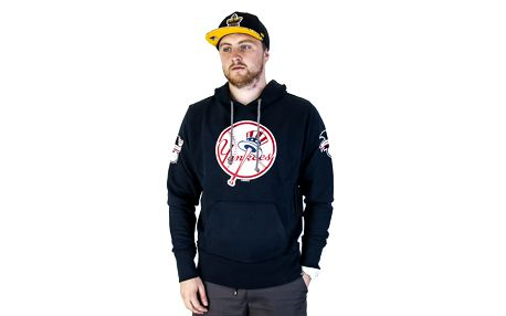 Mikina s kapucí 47 Brand Sure Shot Scrimmage New York Yankees Hoody Fall Navy