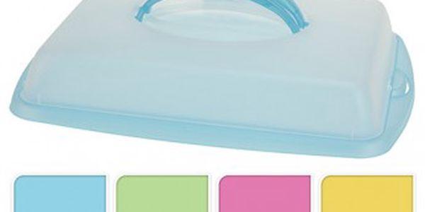 Box plastový na potraviny s víkem 43x31x9 cm KAISERHOFF KO-Y54660190