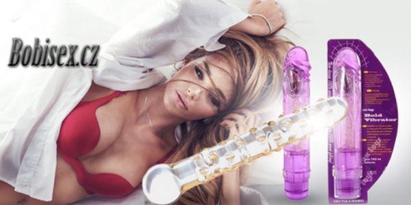 Užijte si naplno erotické hrátky s luxusním vibrátorem nebo skleněným dildem! Zpestřete si intimní chvíle!