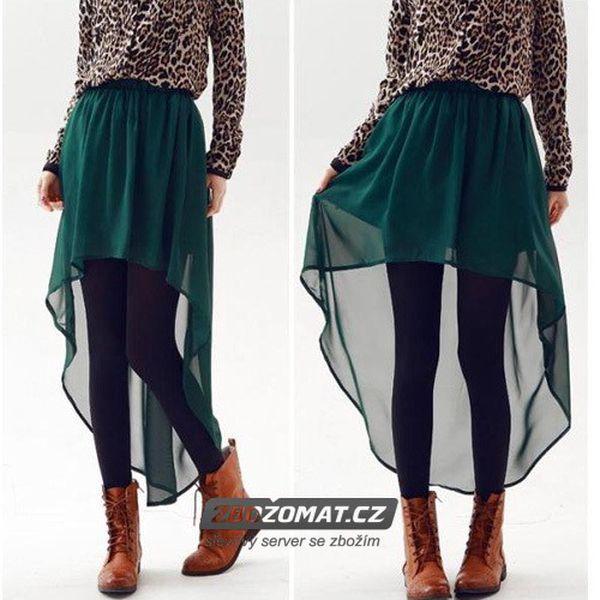 Dámská sukně s prodlouženou délkou!