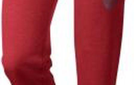 Dámské tepláky Nike RALLY PANT LOGO červená
