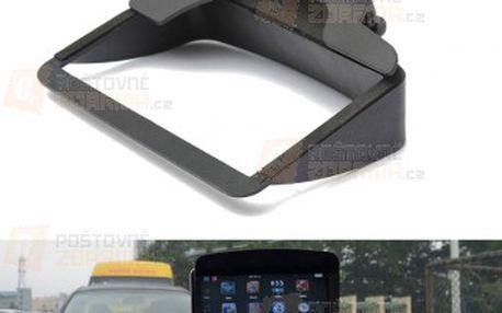 Stínítko GPS obrazovky 12,5x8x3cm a poštovné ZDARMA! - 9999916140