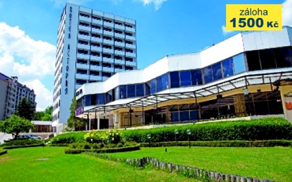 Bulharsko, oblast Zlaté Písky, letecky, polopenze, ubytování v 3* hotelu na 8 dní