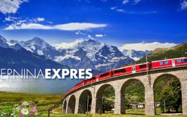 ŠVÝCARSKO PANORAMATICKÝM VLAKEM - 3denní ZÁJEZD! Jedinečný zážitek na nejkrásnější železniční trati!