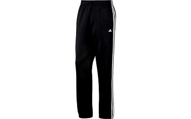 Pánské sportovní kalhoty - Adidas ESS 3 STRIPES SWEAT PANT Black/White