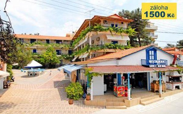 Řecko, oblast Thassos, letecky, polopenze, ubytování v 3* hotelu na 12 dní