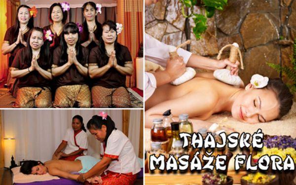Thajské masáže Flora! 60/90/120 minut PRAVÝCH THAJSKÝCH MASÁŽÍ ve variantě dle výběru! Luxusní odpočinek díky šikovným rukám rodilých Thajek ve vyhledávaném salonu na Praze 10!!!