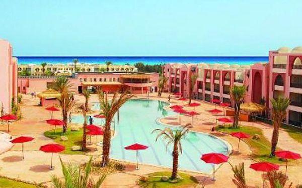Tunisko, oblast Djerba, letecky, polopenze, ubytování v 4* hotelu na 9 dní