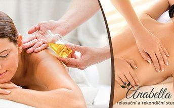 Relaxační balíček masáží - ve studiu v Ostravě Porubě nebo Dubině