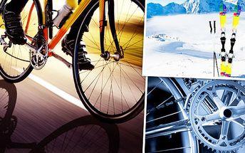 Servis lyží a snowboardů a servis jízdních kol