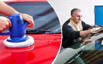 Renovace laku vozidla