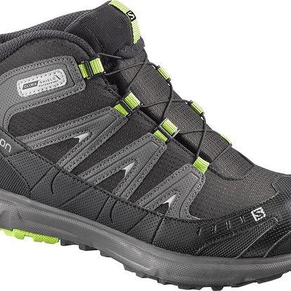 Juniorské outdoorová obuv Salomon Trail mid CSWP