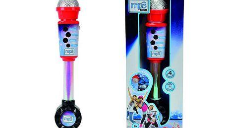 Simba S - Elektronický mikrofon 30cm, vstup pro MP3