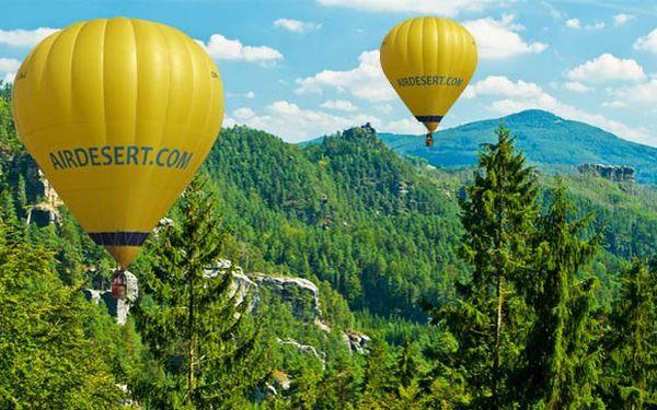 Vyhlídkový let balonem se slevou!