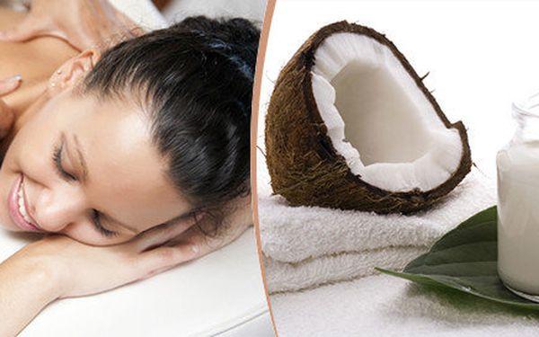 Voňavá luxusní kokosová masáž v délce 60 minut